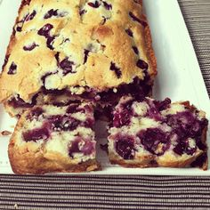 designer bags and dirty diapers: Blueberry Bread