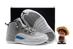 "Find Kids Air Jordan 12 ""Wolf Grey/University Blue"" 2016 Top Deals online or in Pumarihanna. Shop Top Brands and the latest styles Kids Air Jordan 12 ""Wolf Grey/University Blue"" 2016 Top Deals of at Pumarihanna. Cheap Jordans, New Jordans Shoes, Nike Air Jordans, Kids Jordans, Retro Jordans, Womens Jordans, Jordan Shoes For Kids, Michael Jordan Shoes, Air Jordan Shoes"