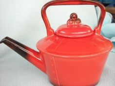 metlox poppy trails red rooster | Metlox Poppytrail Red Rooster Teapot $25 | I Love All These Items