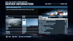 Battlefield UI Screen Example
