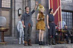 Hunger+Games+Second+Movie | Hunger Games : Jennifer Lawrence et Josh Hutcherson reproduisent le ...