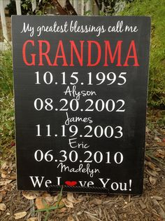 Great for Grandparents gift