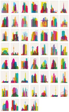 """""""Shapes of Cities"""" series to date. Which shall be next? Atlanta Auckland Austin Barcelona Berlin Boston Brooklyn Buenos Aires Calgary Charlotte Chicago Cleveland Dallas Denver Detroit Dubai Edmonton..."""