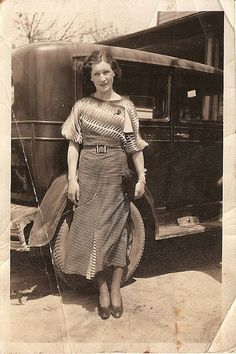 Early 1930s (click through for more information on this beautiful young woman).