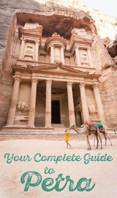 Follow this comprehensive guide to Petra and you'll be sure to uncover all The Lost City of Jordan has to offer! by Wandering Wheatleys (@wanderingwheatleys) #Petra #Jordan #MiddleEast