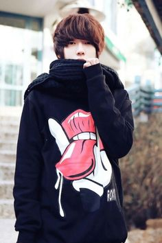 Ulzzang Style, Korea fashion, cute.