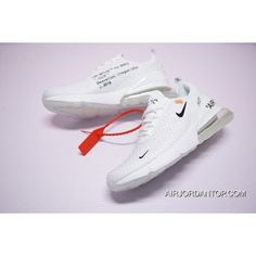 great fit b86ea cead2 Off-White X Nike Air Max 270 White 2018 New Release