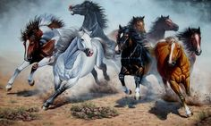 hallo jeremy, this is my paintings , acrylic on canvas Beautiful Horse Pictures, Beautiful Horses, Horse Canvas Painting, Horse Paintings, Wild Horses Running, Oil Pastel Colours, Black Stallion, Painted Pony, Wildlife Art