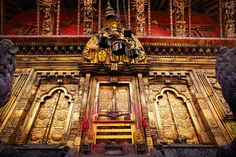 Thought to be Nepal's oldest Hindu temple, Changu Narayan is known for its ornate embossed gilt bronze exterior
