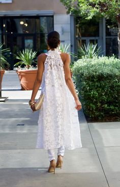 Mama's Girl shuts it down for the Nina Ramel Collection! — My Daily Threadz All White Party Outfits, All White Outfit, White Dress, Bar Outfits, Vegas Outfits, Club Outfits, African Attire, African Dress, Style Africain