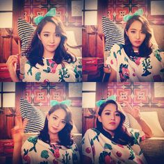 Yuri and her lovely photos from the set of SNSD's latest MVs
