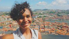 Porto vista de cima  #torredosclerigos #portugal #porto #view #up #maisumatorre #riodouro #travellatina #desviantes #vcmochilando #euvounajanela #eurotrip #trip #vacation #possotudo #tonomeumelhormomento #vsco #vscocam #selfie #me #blackwoman by darana_vassaria