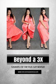 Plus size Fashion beyond a 3X where to shop on The Curvy Fashionista
