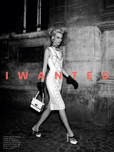 I Wanted Everything | Milou van Groesen | Paul Empson #photography | Black Magazine 16 Spring/Summer 2012