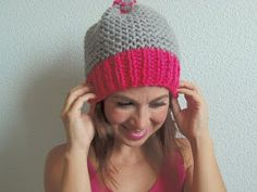 Knitting Stiches, Knitting Patterns, Knitted Hats, Arts And Crafts, Beanie, Wool, Irene, Facebook, Youtube
