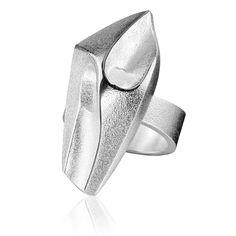 LABYRINTH Silver Ring / Design Björn Weckström / Handmade in Helsinki / Lapponia Jewelry