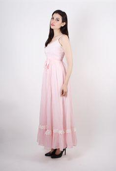 On SALE 60% Off Pink Gunne Sax Wedding Dress 70s by aiseirigh