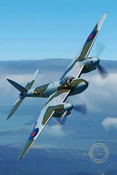 RAF MOSQUITO. Courtesy of RAFBBMF