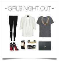 Girls night out style. Fall fashion