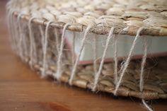 DIY: Round Straw Bag - SUGAR LANE