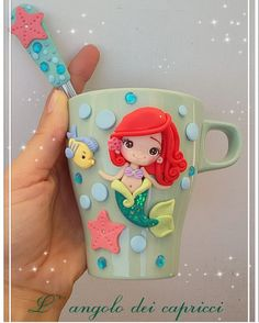 1 million+ Stunning Free Images to Use Anywhere Polymer Clay Disney, Cute Polymer Clay, Fimo Clay, Polymer Clay Charms, Polymer Clay Projects, Polymer Clay Creations, Clay Crafts, Diy And Crafts, Porcelain Clay