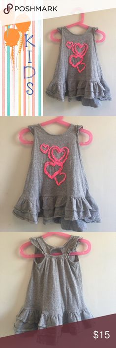 3x$18 Sale- Little Girls Dress Very Cute and comfortable dress. UK brand. Size 2T. My daughter is 3 and she was still able to wear it with leggings under. Used in great condition.All items in this closet UNDER $10 are 3 x$18 with a custom listing. Just ask 😊 NBC Apparel  Dresses