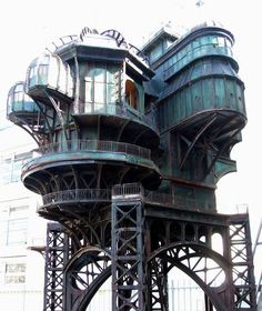 """Used in the French film """"City of Lost Children."""" -- Kre.  my future castle could certainly be inspired by this"""