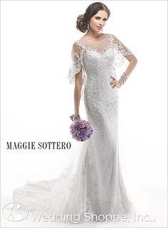 Maggie Sottero Bridal Gown Alvarez / 4MB800