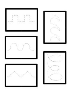 Printable Preschool Worksheets, Tracing Worksheets, Writing Activities, Preschool Activities, How To Make Magic, Balloon Cars, Card Games For Kids, Geometric Drawing, Shape Puzzles