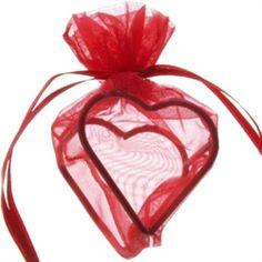 Ballonvægte   risposer   Røde hjerte organzapose   4 stk.   til festen