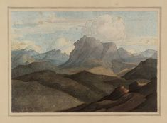 Francis Towne 'The Top of the Splügen Pass. II', date not known