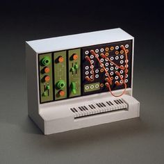 Click for more amazing pics! Miniature Analogue Papercraft Synthesizers by Dan McPharlin