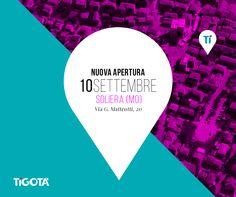 Amici e amiche della provincia di #Modena, da giovedì 10 settembre saremo a Soliera con il punto vendita in via G. Matteotti, 20. Vi aspettiamo con tante offerte e omaggi! www.tigota.it