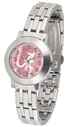 Alabama Crimson Tide Ladies Dynasty Watch With Mother Of Pearl Dial