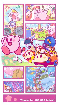 absurdres backwards hat bamboo baseball cap beanie blue hat boom microphone bow bowtie bug cape car cherry blossoms chimney cloud copy ability crown driving earmuffs eating fake beard fake facial hair fake nose food food on face fur trim green hat gr Kirby Character, Game Character, Pokemon, Kirby Games, Kirby Nintendo, Demon Baby, Meta Knight, Bad Bunny, Videogames