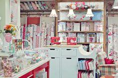 Cath Kidston store in Cambridge. Material heaven.