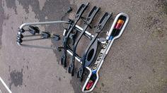 A louer porte vélo Thule.- Pour 3 vélos- Sangles d'attaches rapide aux roues…