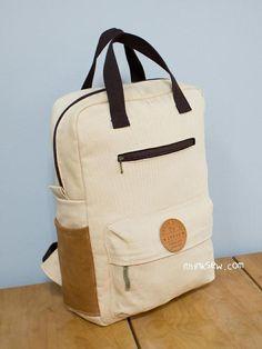 #775 Vicky Adult Backpack PDF Pattern | Craftsy