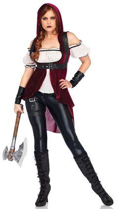 36195cd42b Rebel Red Huntress Costume