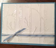 Glistening Tree by Provinca - Cards and Paper Crafts at Splitcoaststampers