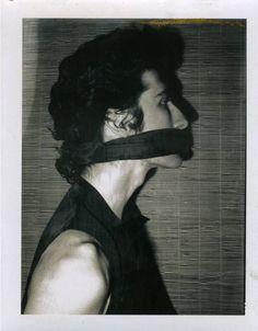 Untitled (David Croland), c. 1972 Black and white Polaroid 14.6 x 10.5 cm / - The Independent