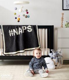 Caron #NAPS Crochet Blanket, Crochet Pattern   Yarnspirations