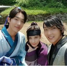 """Scarlet Heart: Ryeo"" Seohyun, fun times with Lee Joon-ki and Nam Joo-hyeok"