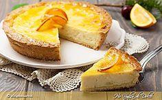 Crostata alla ricotta e arancia ricetta