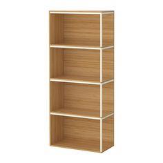 IKEA PS 2014 Opbergcombinatie met deksel IKEA Oppervlak van bamboe, een slijtvast, vernieuwbaar en duurzaam materiaal.