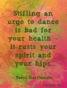 Urge to Dance #dancequotes