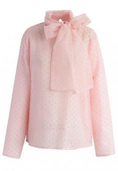 9faad2db5cfda Sweeten up your collection of soft tops this season with this sugary pink  organza top.