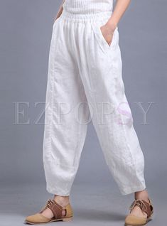 Shop Oversize Linen Lantern Pant at EZPOPSY. Discover fashion online.