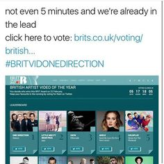 THATS WHY WE ARE LEGENDS vote for the boys! #BRITVIDONEDIRECTION
