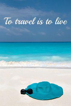 Travel quote with a picture from the Maldives / Reise Zitat mit einem Bild von den Malediven - finde mehr Fotos in meinem Reiseblog!